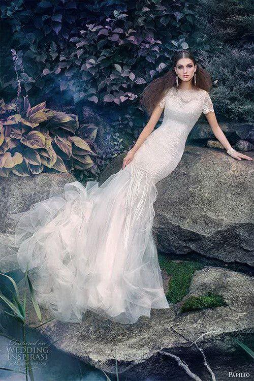 Papilio 2016全新天鹅公主婚纱系列